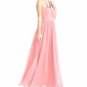 Azazie Bridesmaid dress Fatima Size A2 Flamingo